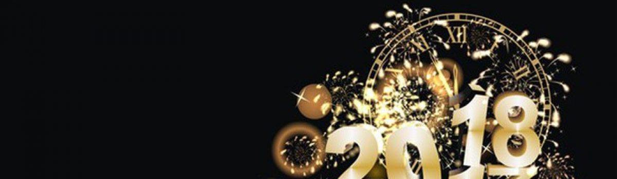 Die besten Wünsche für 2018