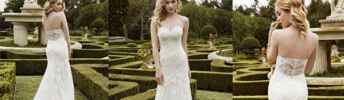 Dress of the week – Isleboro von Enzoani Blue