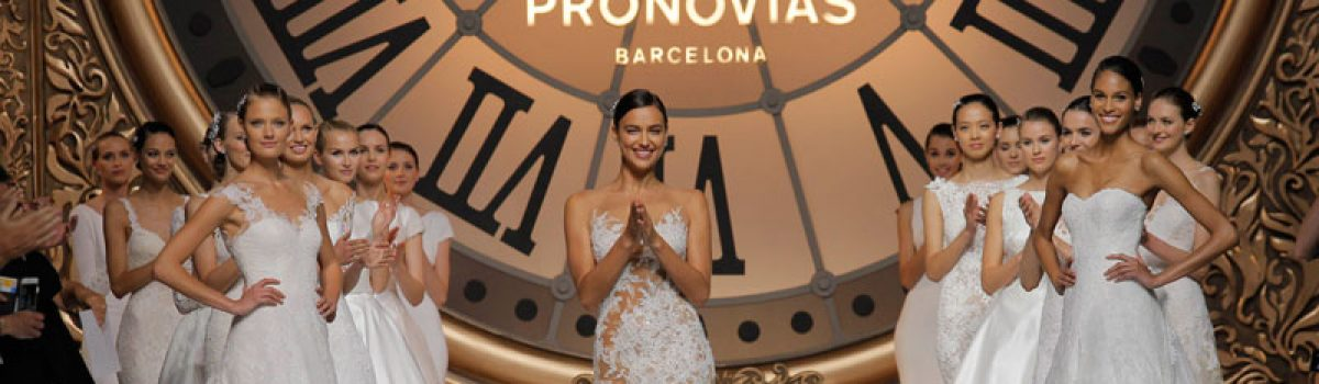 Pronovias Kollektion 2016 Show in Barcelona