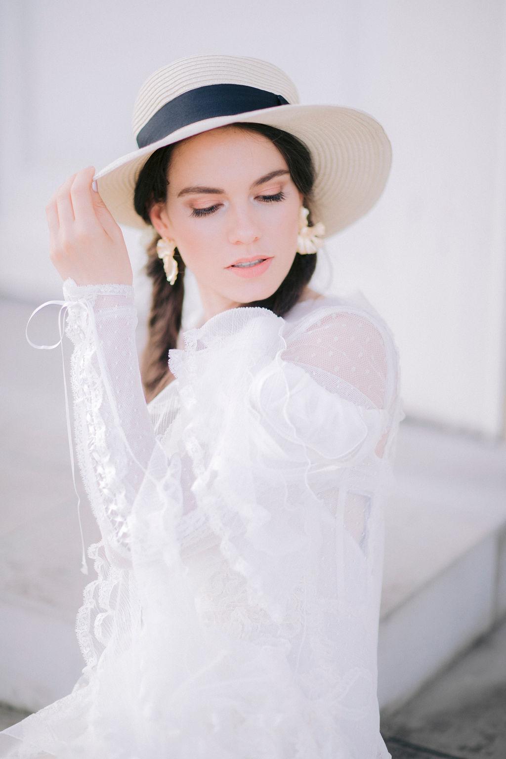 Styleshooting mit Anja Schneemann in Brautmode & Brautkleider