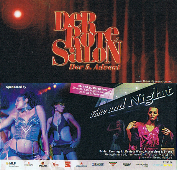 Sponsoring der Veranstaltungsreihe Roter Salon