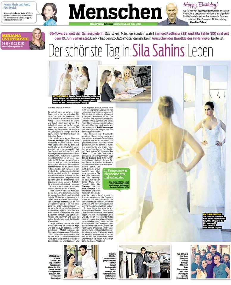Neue Presse - Sila Sahin & Samuel Radlinger